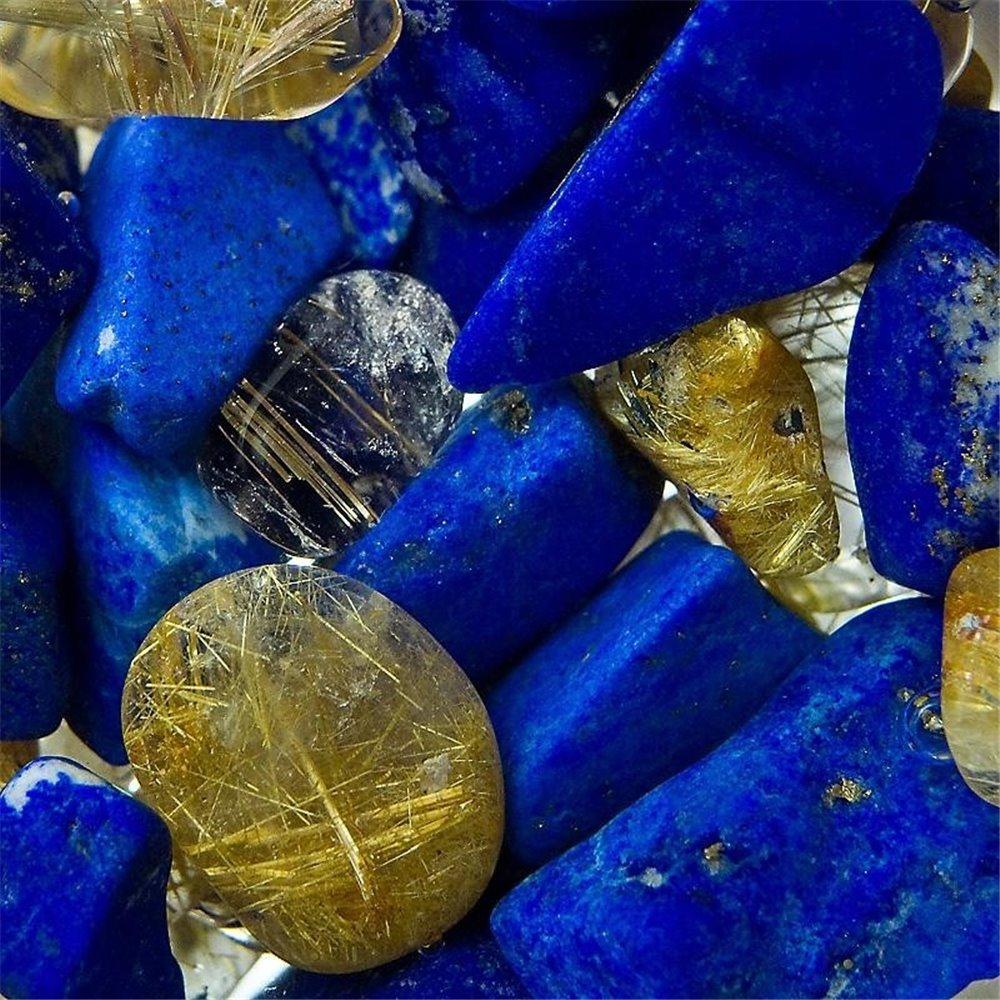 Vitajuwell pierres - bleu or