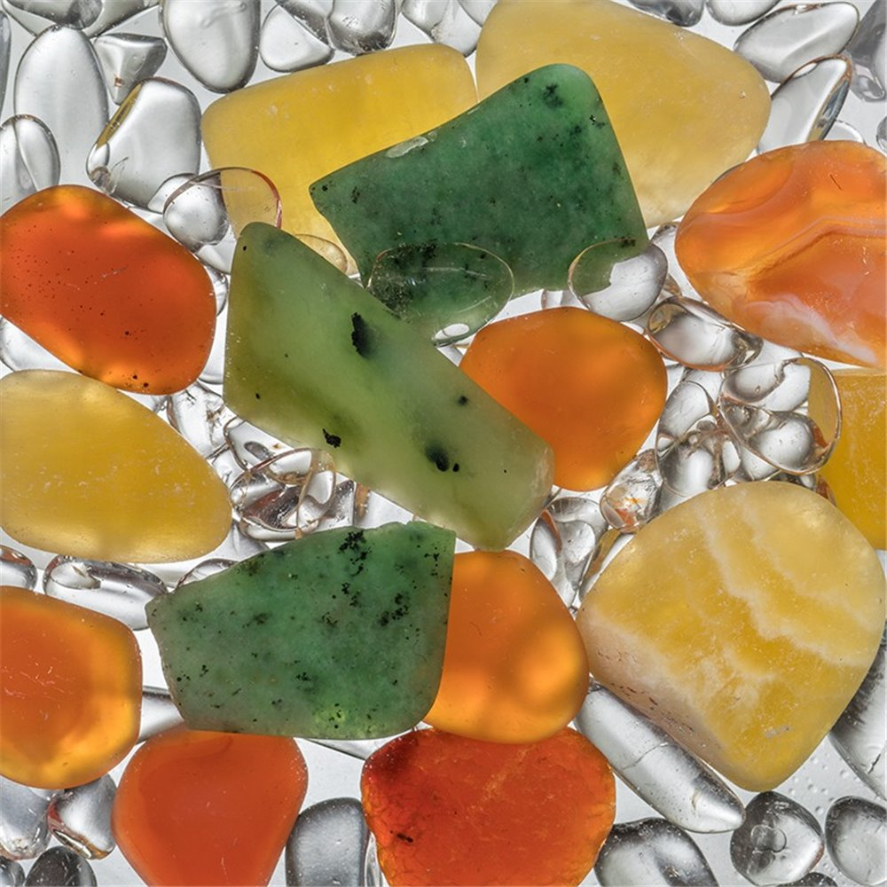 Vitajuwell pierres - orange vert