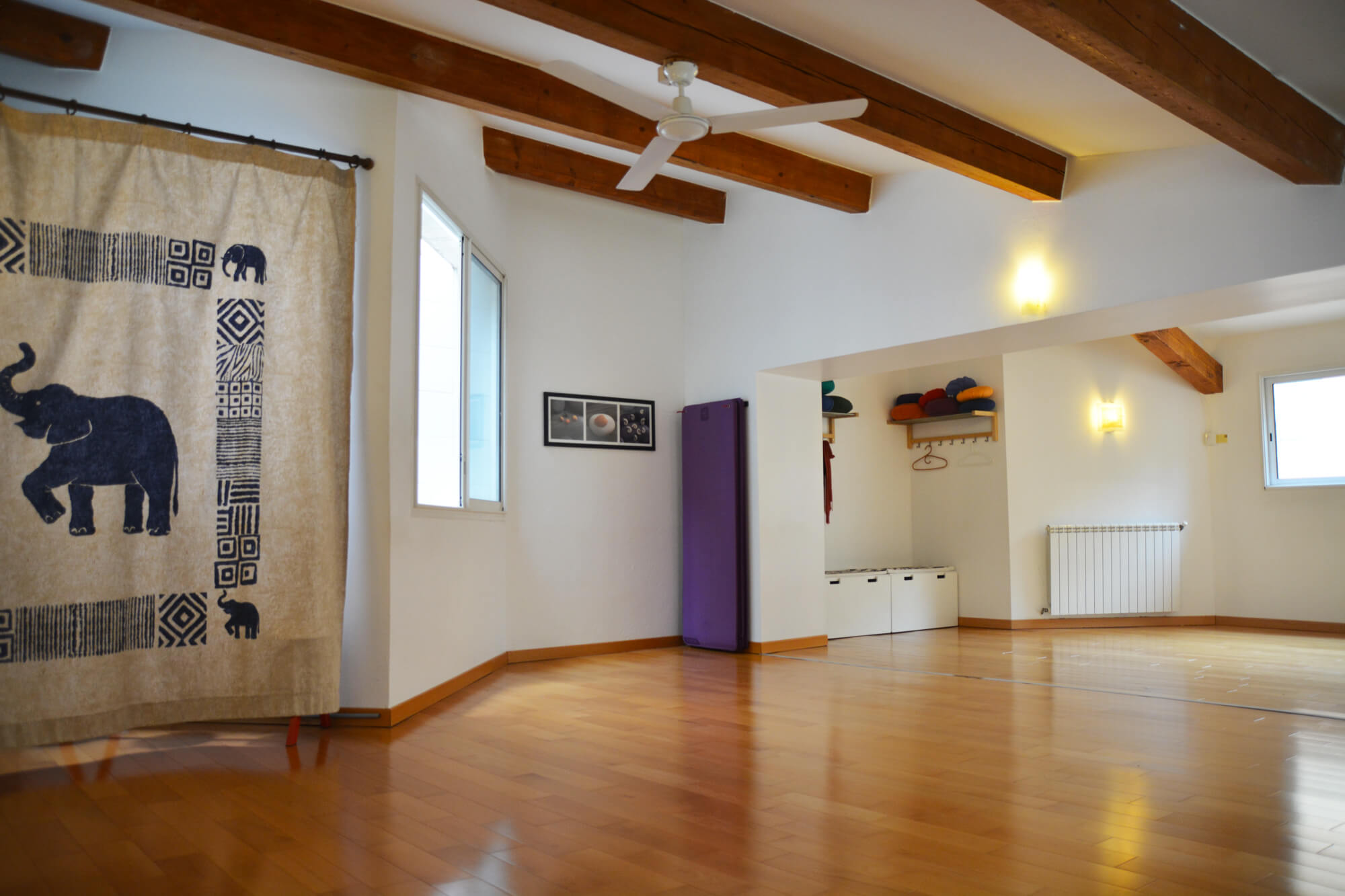 Salle yoga cours collectifs